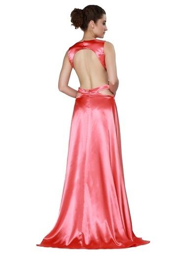 Pierre Cardin Uzun Abiye Elbise Mercan